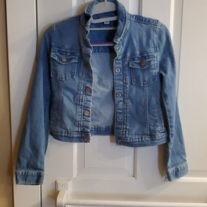 GapKids denim jacket size 8/10
